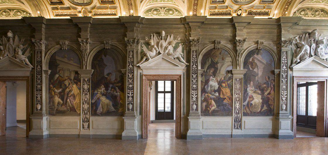 Interior del palacio. fuente: Fundación Prada
