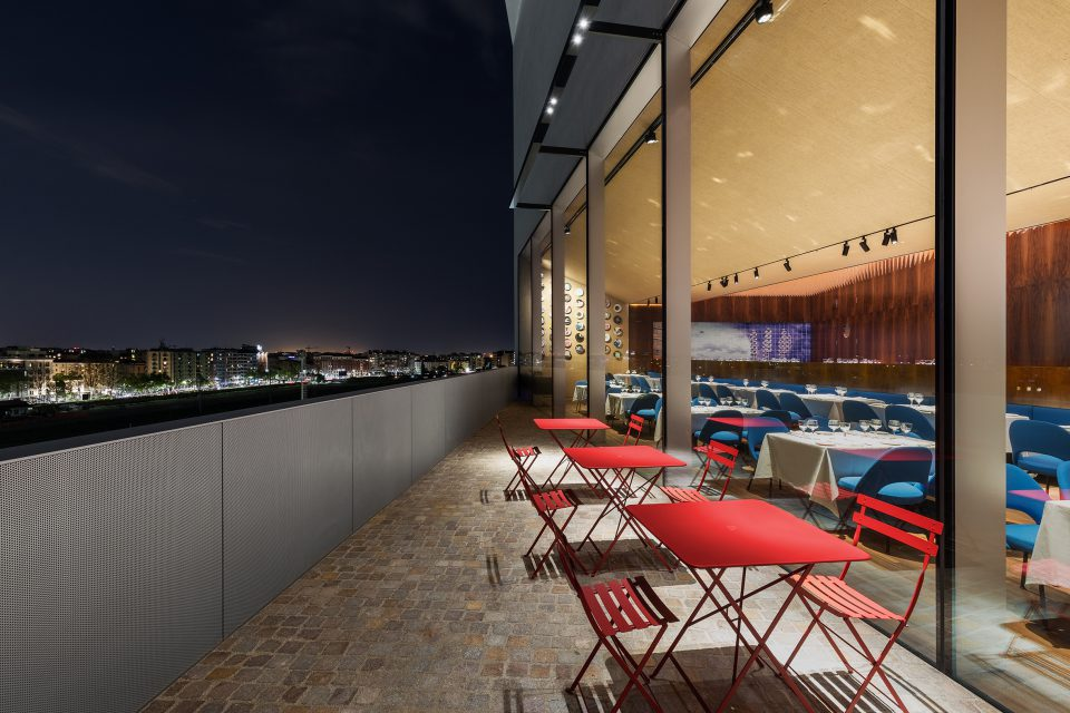 Restaurant Torre Fondazione Prada